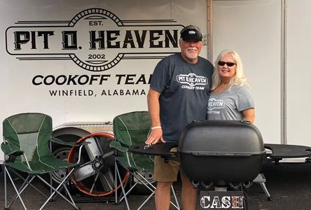 The Pit of Heaven Cooking Team from Winfield, Alabama.