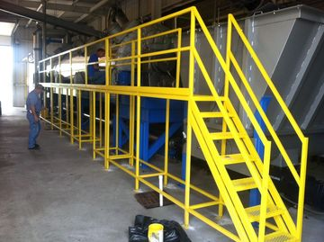 catwalk, equipment, repairs, custom welding