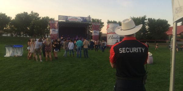True North Security - Calgary Security - Event Security - Country Thunder Security
