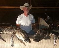 Gator Hunt Season Dates August  15 thru October 31