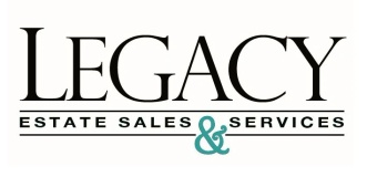 """A LEGACY"" Appraisals & Estate Sales, LLC"