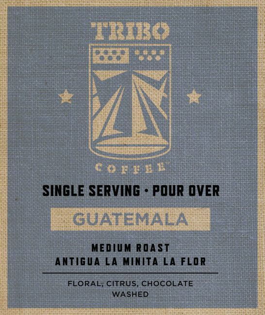 Guatemalan coffee.  One cup ground coffee.  Medium roast coffee.  Single serving coffee.