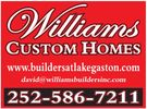 Premier Home builder at Lake Gaston North Carolina & Virginia