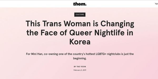 This Trans Woman is Changing the Face of Queer Nightlife in Korea