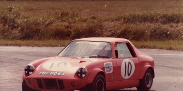A picture of my first GTM at Lydden in 1984
