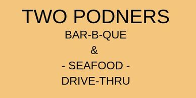 two podners bar-b-que and seafood