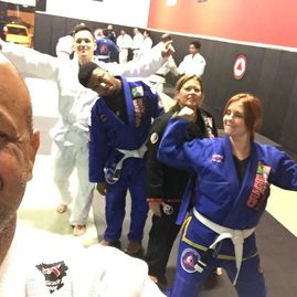 Jiu jitsu for all. Women self defense. Martial arts academy