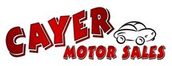 CAYER MOTOR SALES
