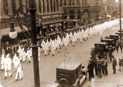 Across the United States in the early 1920s, the KKK was extremely powerful