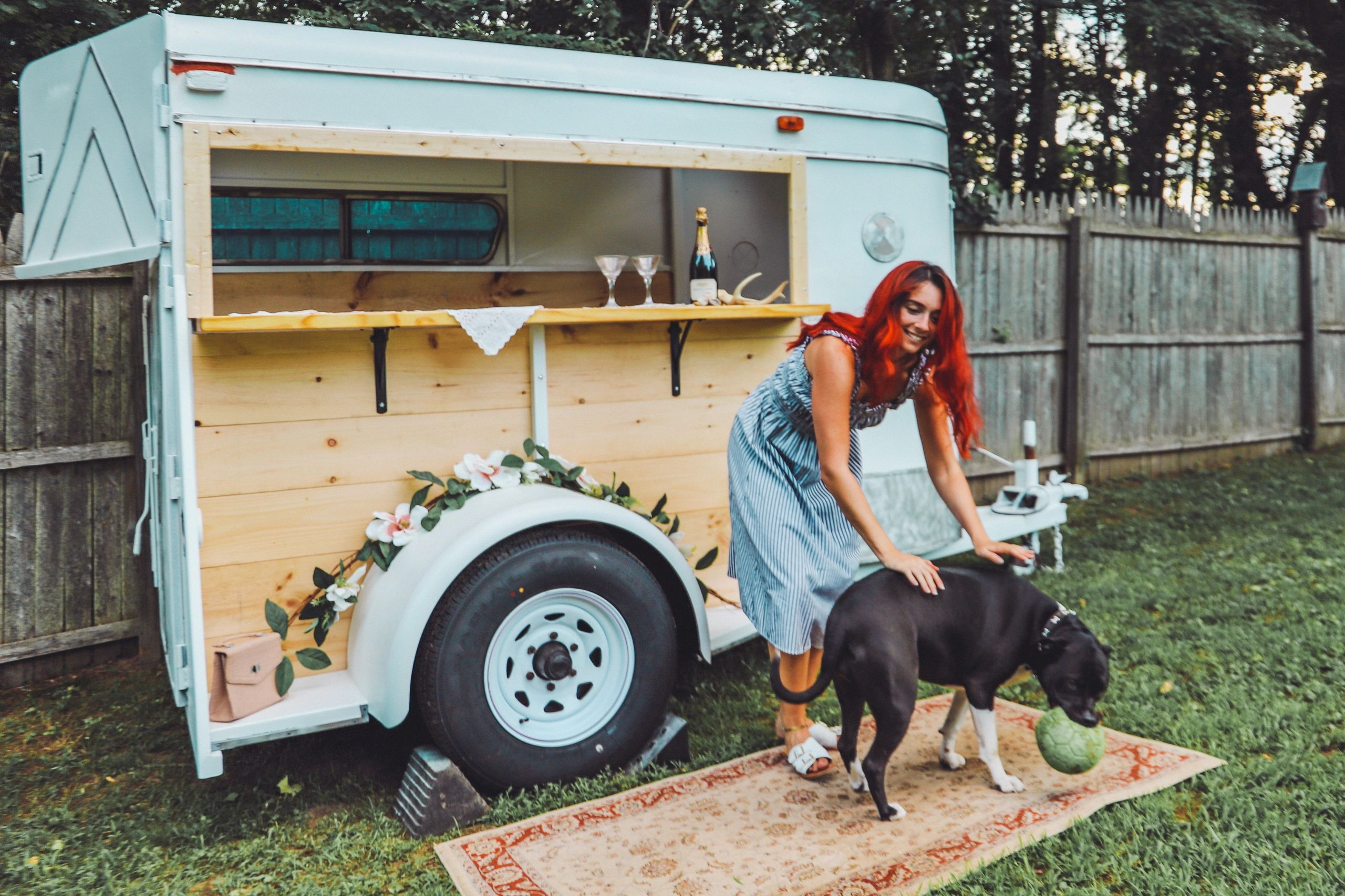 campfire trailers, food truck, mobile bar