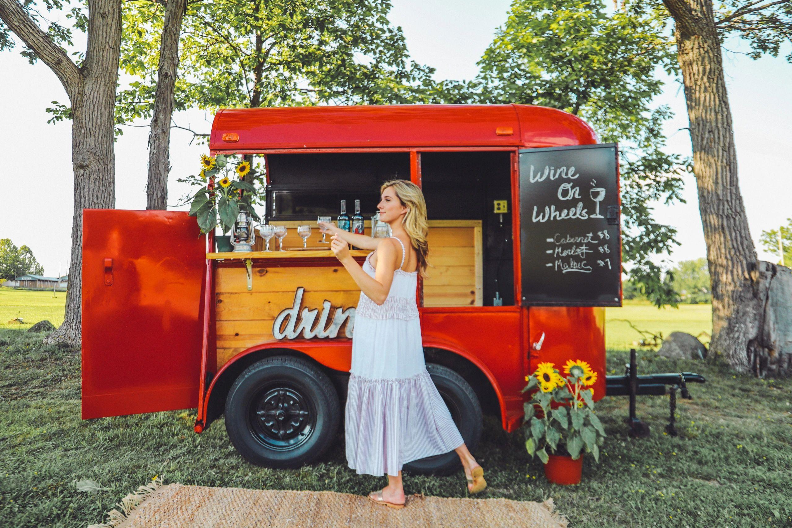 Campfire Trailers Horse Trailer Mobile Bar Mobile Bar Sales Campfire Trailers