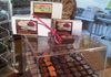 Tiny little display case for chocolate before we moved into the larger back room.