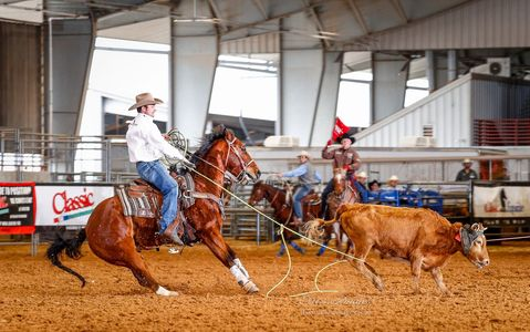 X-Treme Team Roping. Photo by Olie's Images LLC.