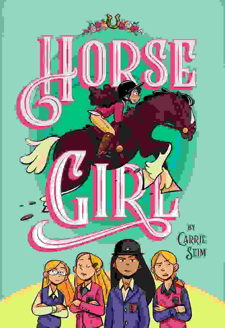 Horse Girl book by Carrie Seim cover