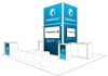 Commvault: Design of show stand for an EMEA event