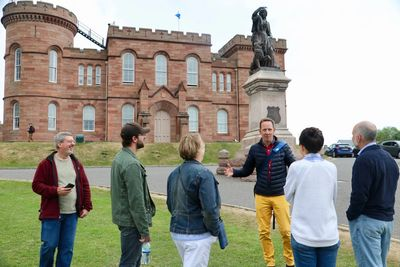 Nolan Family and Inverness Castle