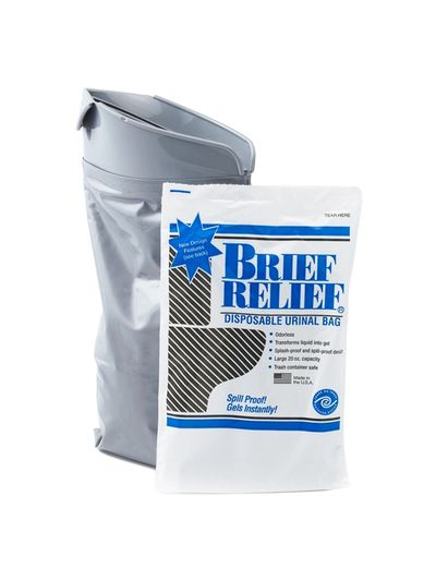 Brief Relief American Innotek Potti Corp Disposable Urinal Piss Bag