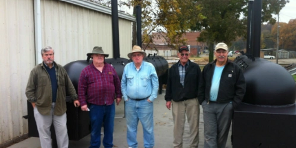 MWPGM John Strickling, David Glenn, PM, Dean Stark, Gerald Gunn and Phillip Sherman