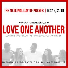 Love One Another 2019 NDP theme graphic.