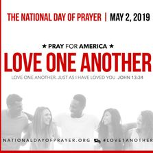 Love One Another 2019 NDP Graphic