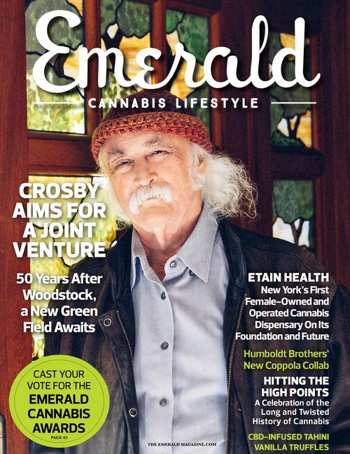 David Crosby - The Emerald Cannabis Lifestyle Magazine