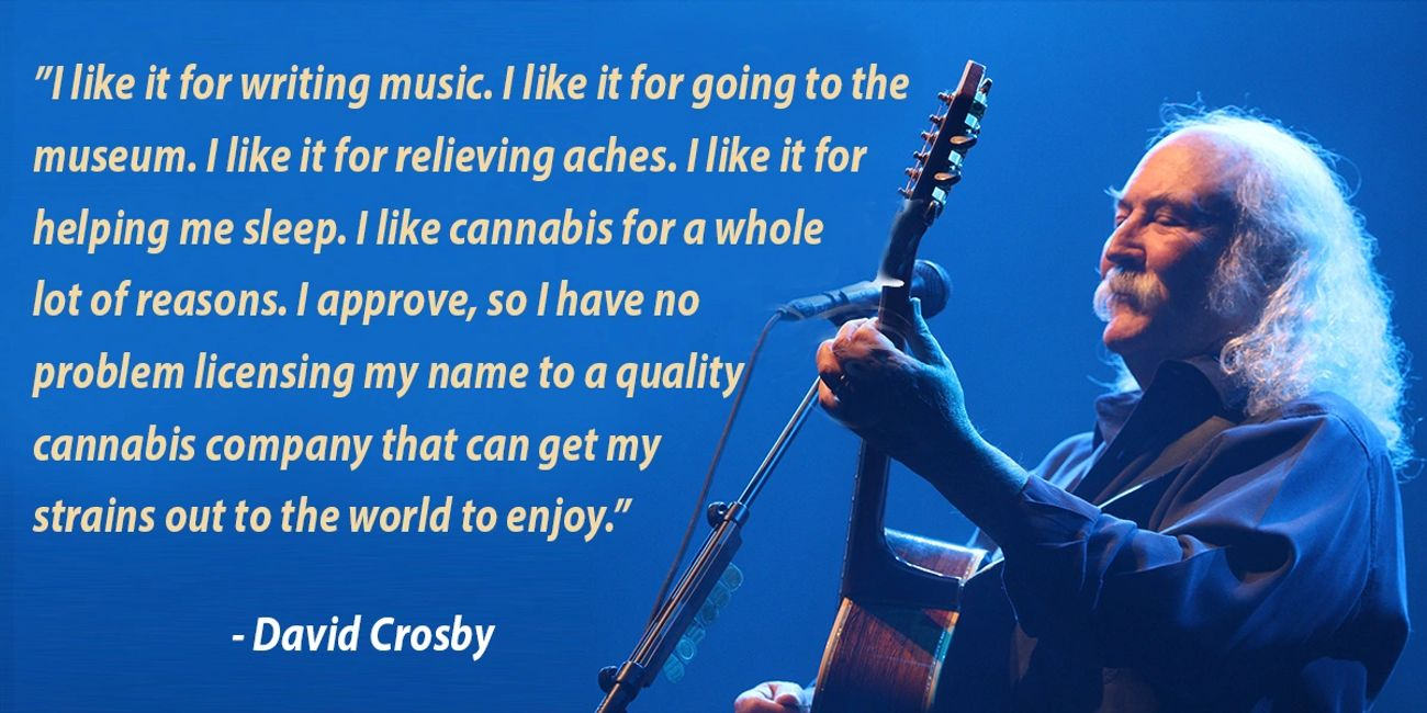 David Crosby official cannabis brand