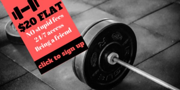 The Garage Gym unlimited membership plans round rock texas