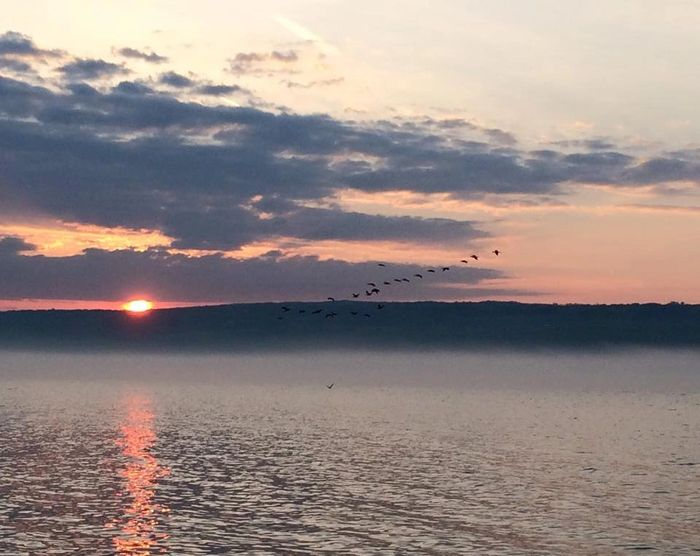 Sunset cruise on Seneca Lake