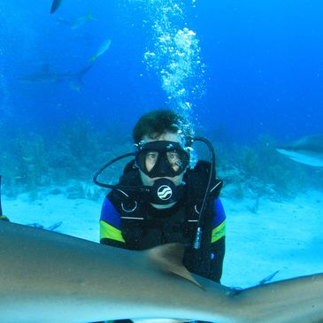 Mark McGill, PADI Divemaster