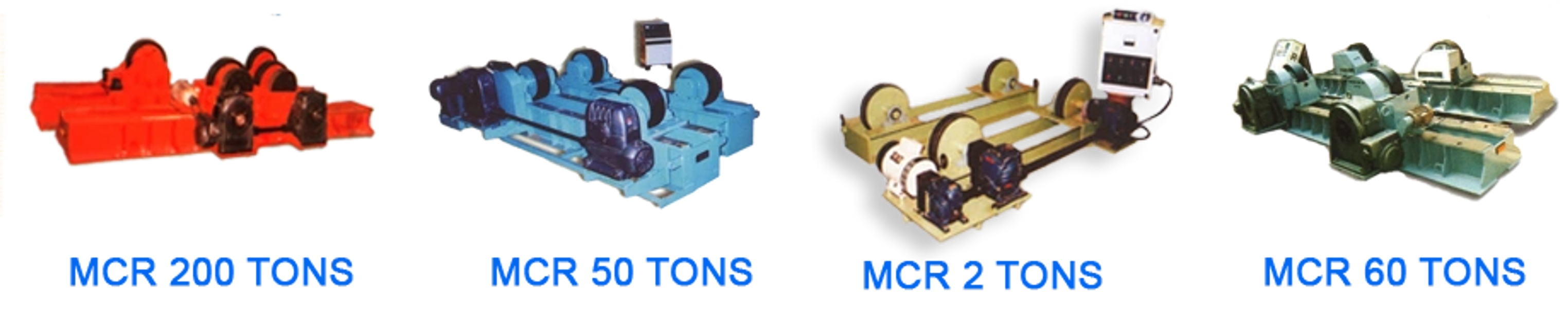 Memco Rotators are robust heavy duty design and built to rotate the Cylindrical vessels of all types.