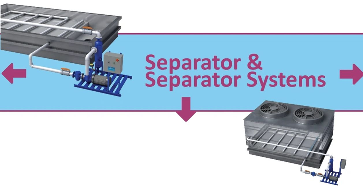 Separator  Systems, Sand Filters, Cooling Towers Pot Feeders, Water Conservation,  Griswold