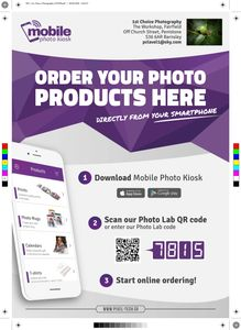 MOBILE PHOTO KIOSK FLYER