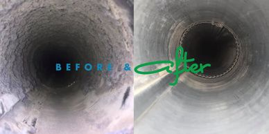 Professional duct cleaning with a 3 stage filtration system with a 99.97% HEPA Filter