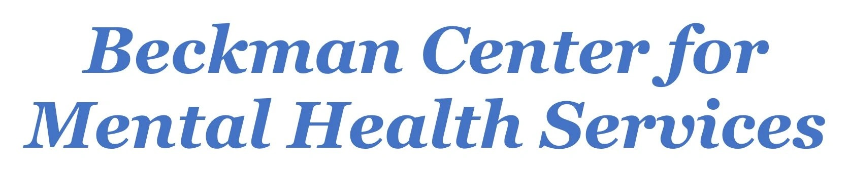 Beckman Center for Mental Health Services