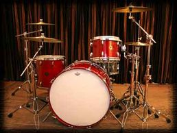 Tom-8x12 Floor tom - 14x14 Kick Drum-16x22
