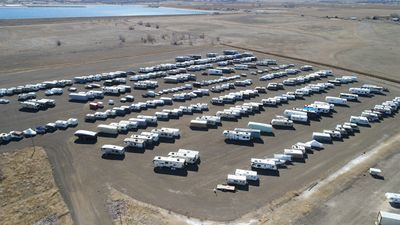 Affordable Cheap RV Storage near Denver in Erie Colorado