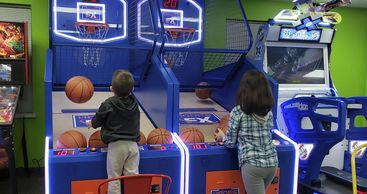 Arcade room at UPutt Family Fun Center