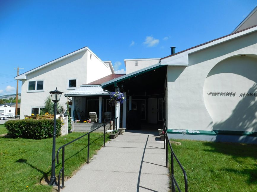 Crowsnest Pass Senior Housing operates the WestWinds Appartments -  affordable senior accommodations