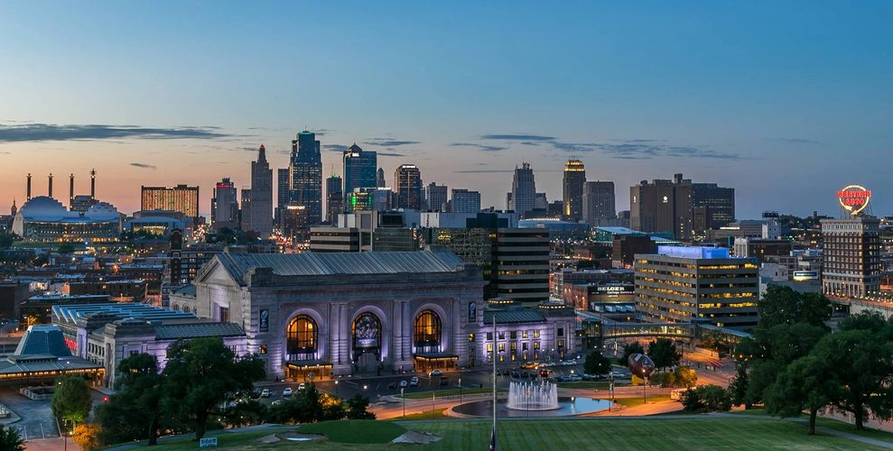 Kansas City, MO skyline. Photo credit Darren Toliver 2018