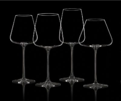 Italesse Etoile Senses Collection, Sommelier Glasses, Professional Wine Tasting Glasses, Etoile Sparkle, Etoile Noir, Etoile Blanc, Etoile Platinum, wine glasses, champagne glasses, red wine, white wine, champagne, universal wine glass, universal wine glasses