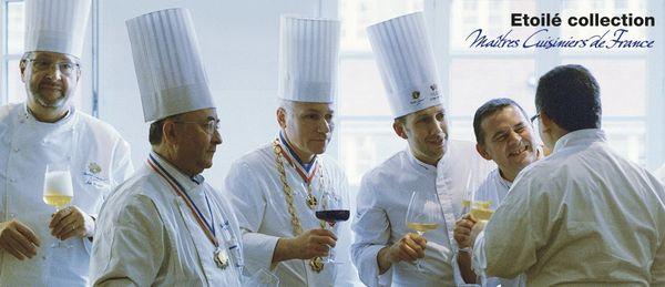Master Chefs of France, Proud Partner, Italesse Etoile Glassware Collection