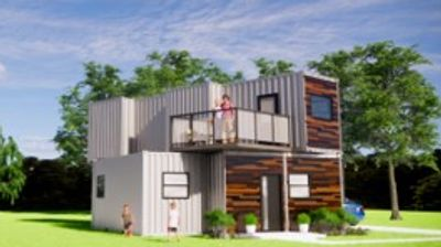 Tiny Home, ADU, Tiny Homes, Container Home, Shipping Container Home