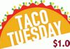 $1.00 (ground beef or chicken) TACO OR $1.50 FOR (steak, grilled chicken or pork)