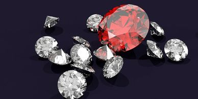Diamonds and Alternative Gems Buying a diamond or a gem is often a very personal experience. Diamond