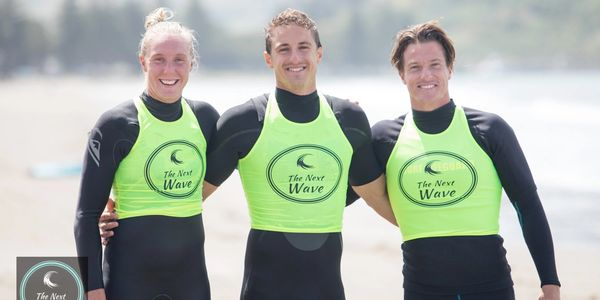 Danielle McKenzie, Cory Taylor, Max Beattie New Zealand Surf Lifesaving athletes, The Next Wave, Clinics, Nippers, New Zealand