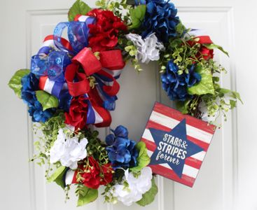 Fourth of July, Independence Day, Patriotic Decor