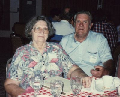 Harriett and Arnold Wyatt at the last Silver Bell reunion.