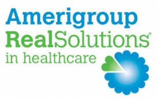 The logo for Amerigroup RealSolutions health insurance