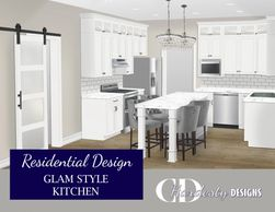 Kitchen remodel or new construction edesign by CDHardesty Designs