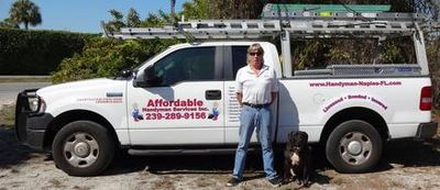 Affordable Handyman Services Inc. Me and My Dog